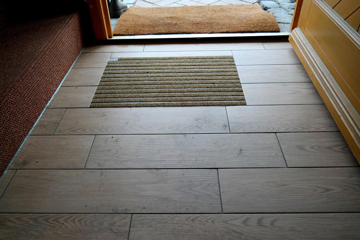 Gut gemocht Eingelassene Fußabtreter sind besonders intelligent designt und AP15