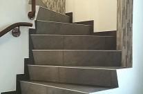 Bei so einem Highlight aus Mosaik geht man die Treppe gerne auf und ab!