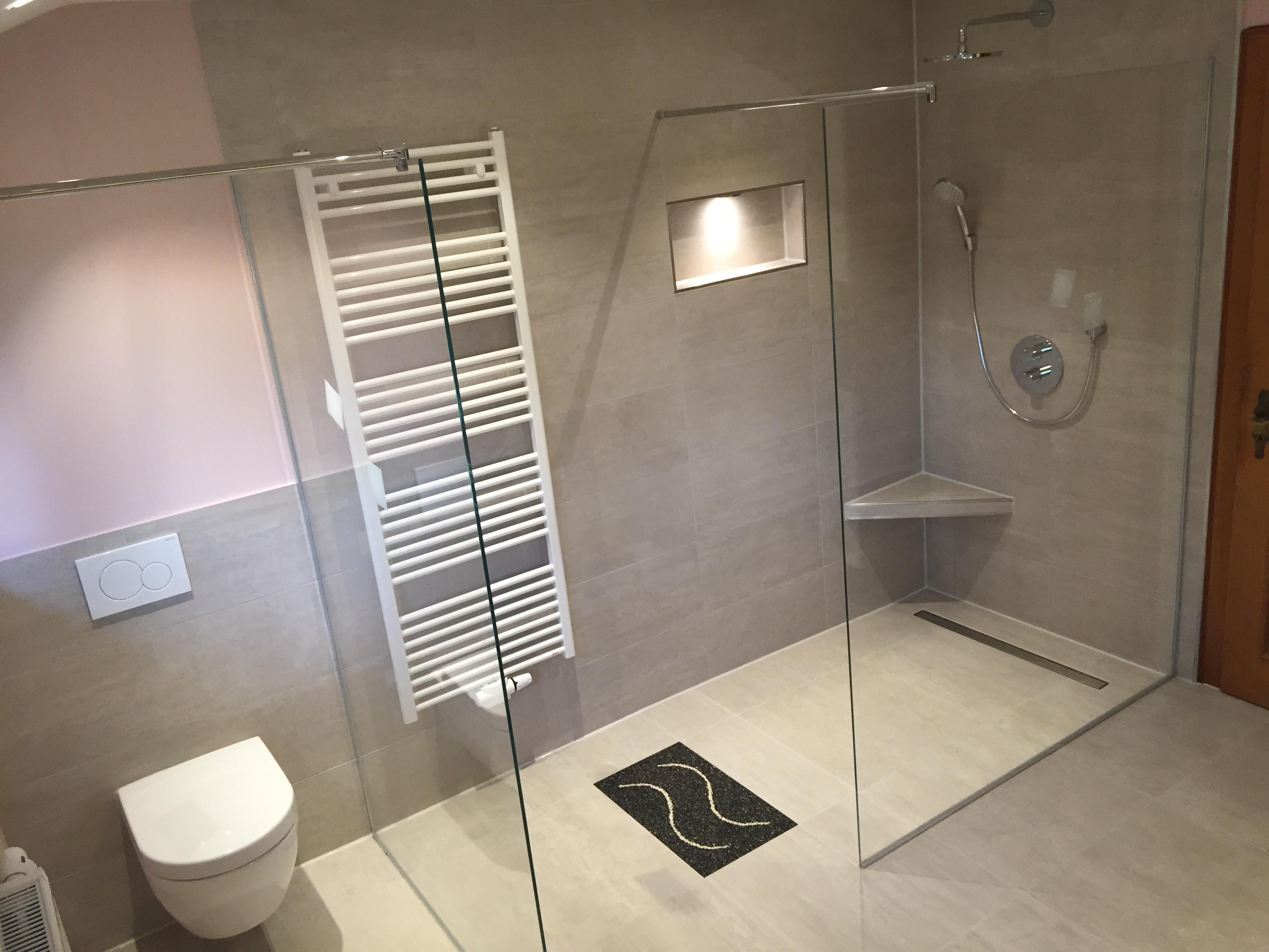 Badezimmer-Modernisierung